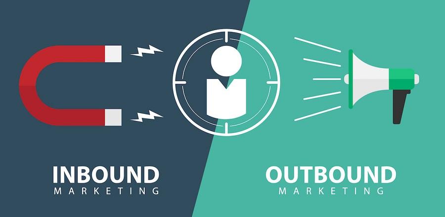 Nếu như inbound marketing thiên về marketing online thì outbound marketing lại thiên về mảng marketing truyền thống.