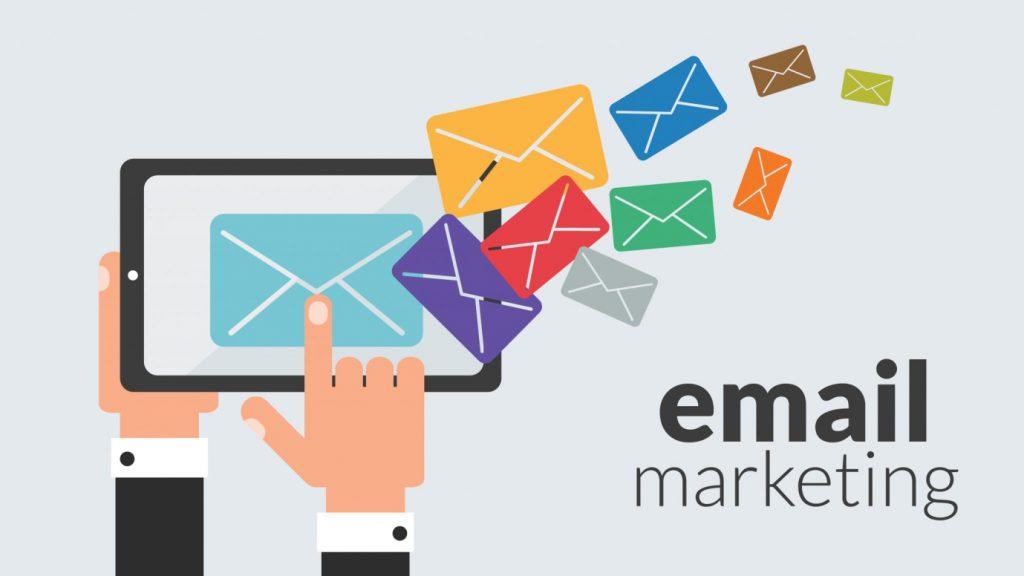 Hình thức email marketing đang được nhiều doanh nghiệp áp dụng.
