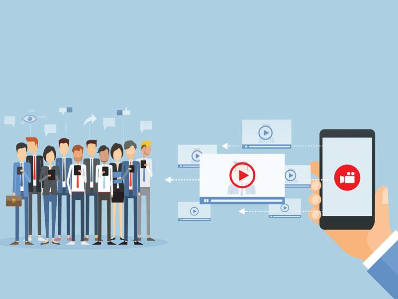 Video dễ gây chú ý nhanh chóng và để lại ấn tượng lâu dài hơn cho khách hàng